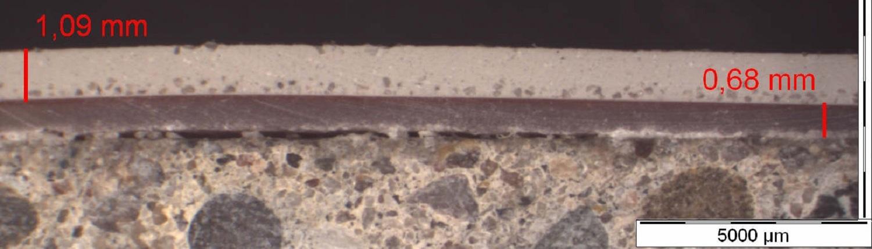 Mikroskopie einer Blase
